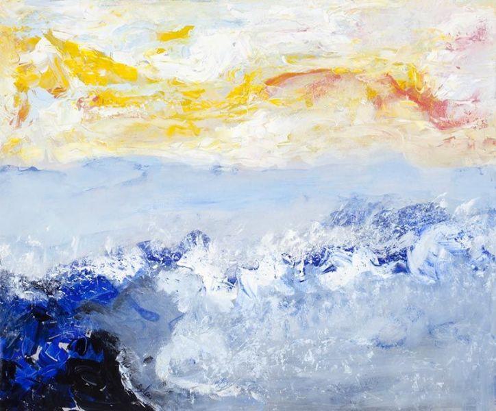 Être, 76cm x 76cm, acrylique 2009