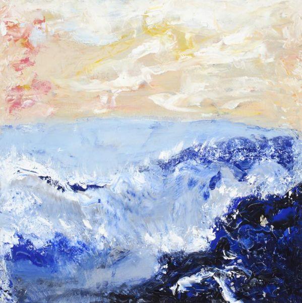 Vivre, 76cm X 86cm, acrylique, 2009