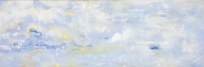 Morceau de ciel, 25cm x 76cm, acrylique, 2011