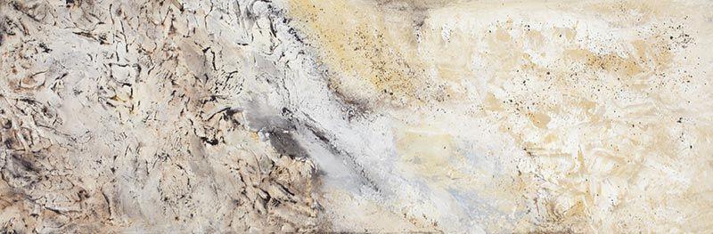 Terre de mes Aîeux, 25cm x 76cm, technique mixte,