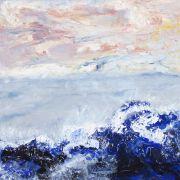 Respirer, 76cm x 76cm, acrylique, 2009