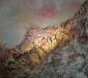 Terre de nos aïeux, 50cm x 50cm, technique mixte, 2011